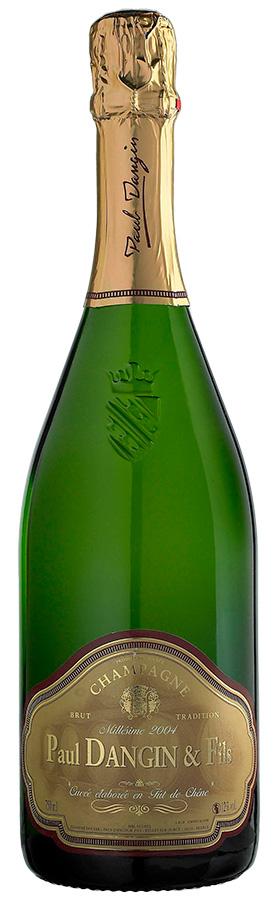 Tradition boisé Brut Millésime 2014 Champagne Paul DANGIN & Fils